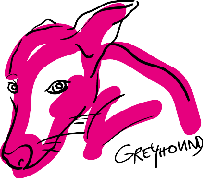 Greyhound Pencil