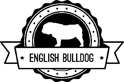 Badge English Bulldog